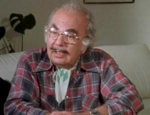 """Sydney Newman, o """"pai"""" do Doutor, em 1984"""