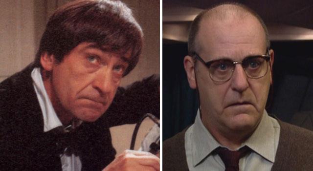 Patrick e David Troughton: pai e filho devem viver mesmo personagem, o Segundo Doutor