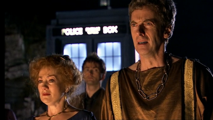 peter capaldi fires of pompeii doctor who brasil