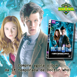 Doctor Who DVD 5 temporada comprar