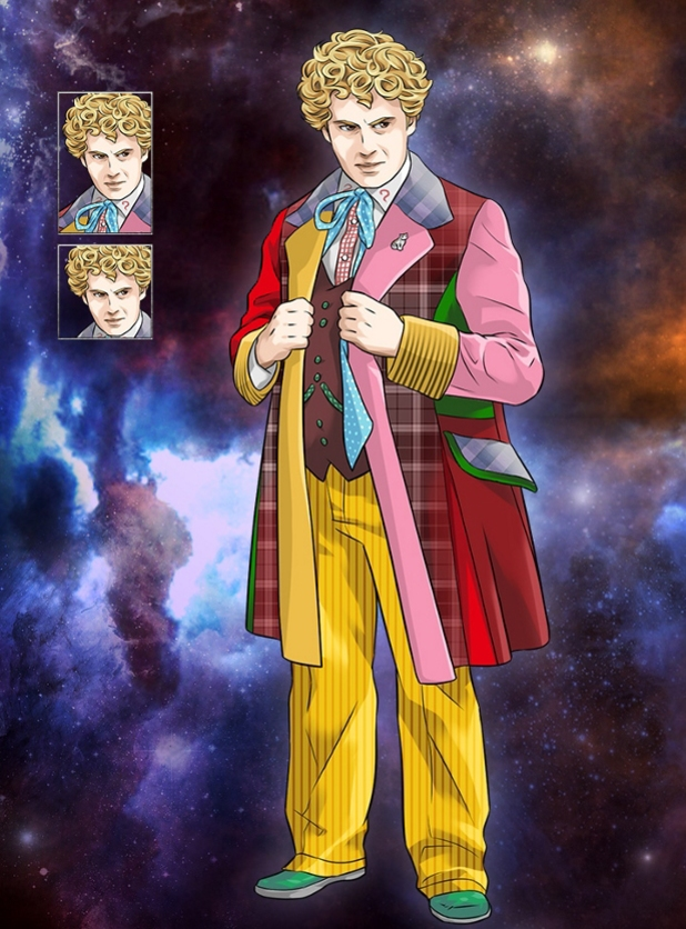 Doctor Who Legacy Colin Baker Sixth
