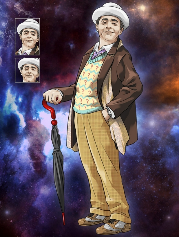 Doctor Who Legacy Sylvester McCoy Seventh