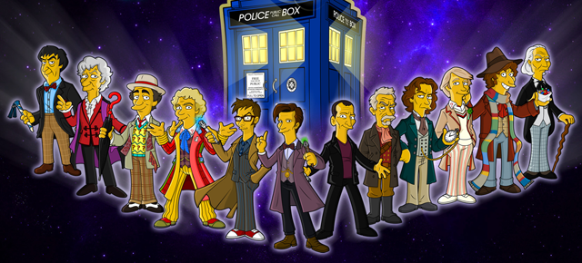 Doctor Who Simpsons dest