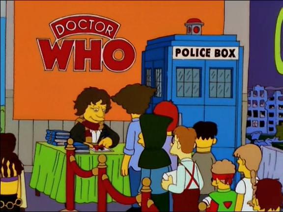 Quarto Doutor em Os Simpsons