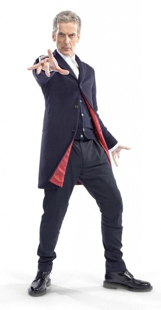 roupa peter capaldi doctor who brasil