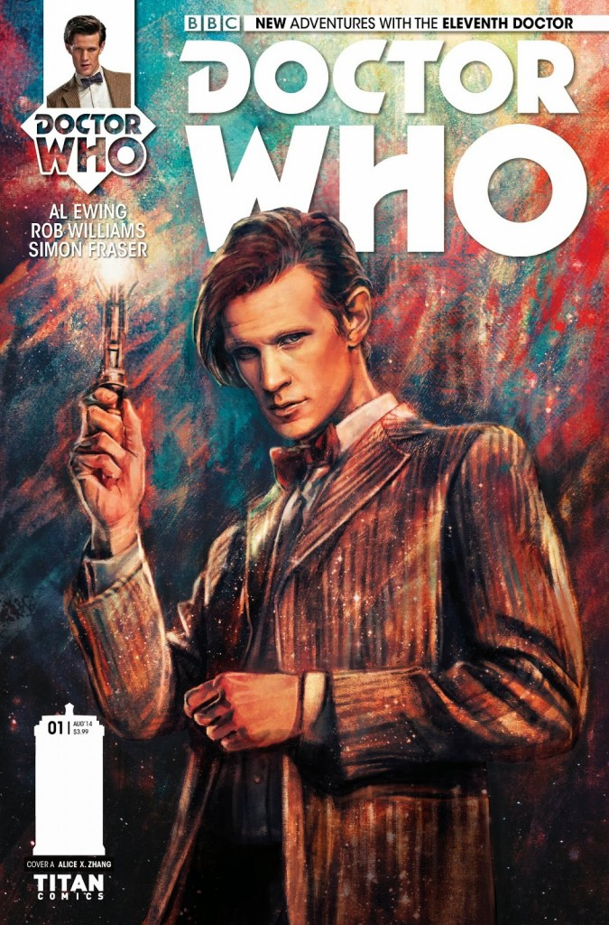 Doctor Who Eleventh Doctor #1 Capa Doctor Who Brasil