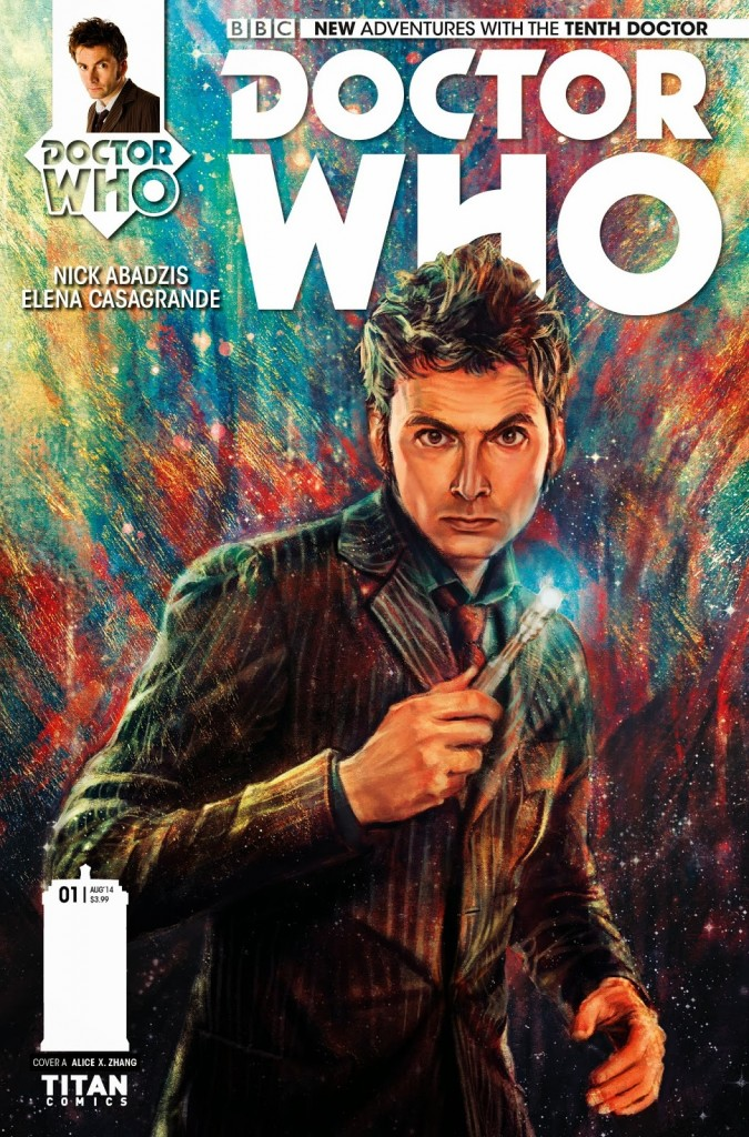 Doctor Who Tenth Doctor #1 Capa Doctor Who Brasil