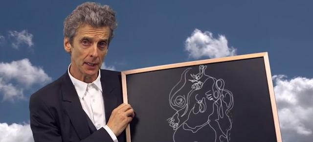 Oi, eu sou o Doutor e a aula de hoje é sobre surrealismo