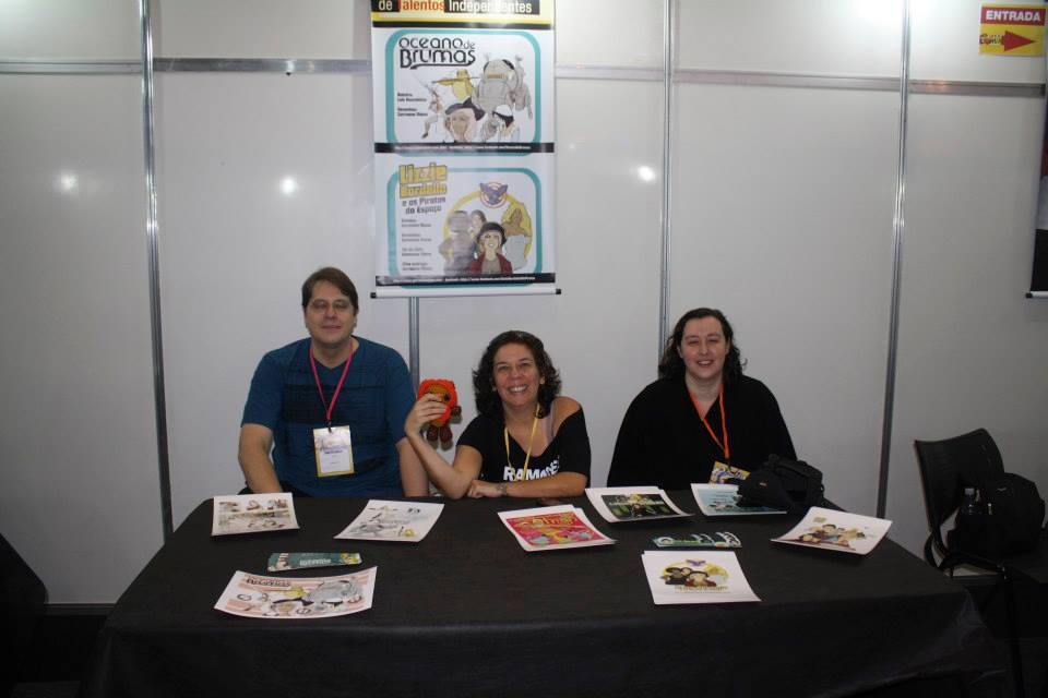 Luis, Germana e Ellen: whovians fofos!