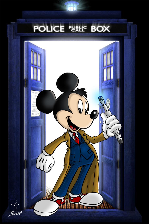 Personagens da Disney vestidos como os Doutores! - Doctor ...