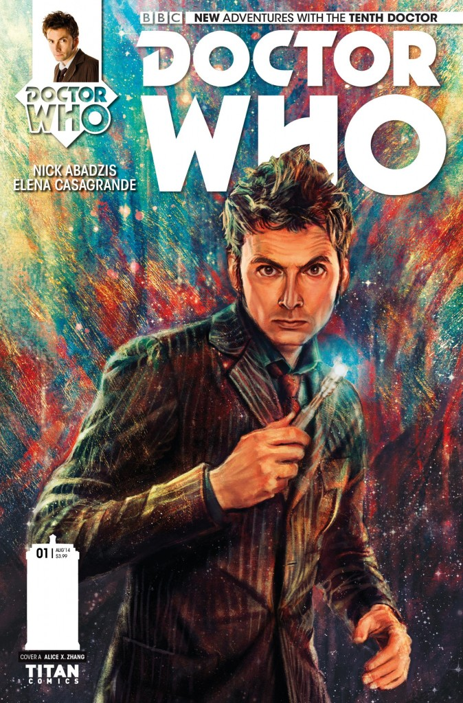 doctor who david tennant titan comics