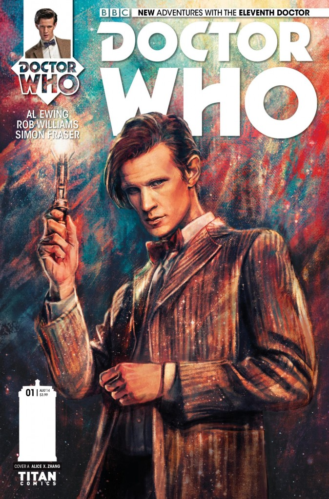 doctor who matt smith titan comics
