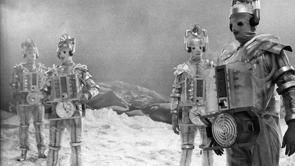 Cybermen de Mondas em The Tenth Planet, o último arco do 1º Doutor #medo