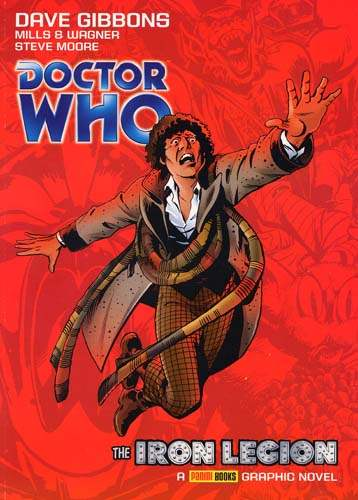 HQ de Doctor Who de autoria de Dave Gibbons: A Legião de Ferro (tradução livre)