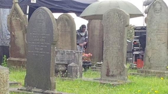 cyberman-grave-series-8-filming