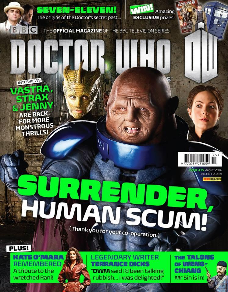 A Doctor Who Magazine já está na edição #475: há quase 40 anos nas bancas da  rainha!