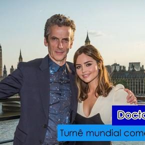 Doctor Who World Tour começa no Reino Unido! Veja fotos e vídeos!