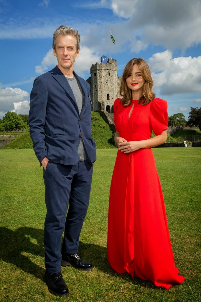 Doctor Who World Tour Peter Capaldi Jenna Coleman 01