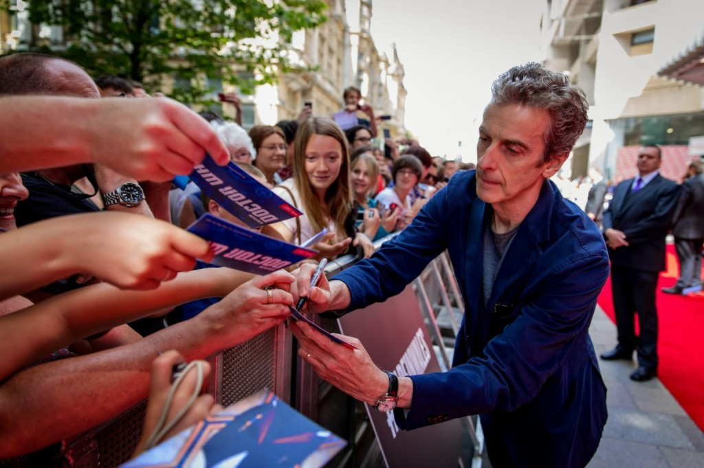 Doctor Who World Tour Peter Capaldi Jenna Coleman 02