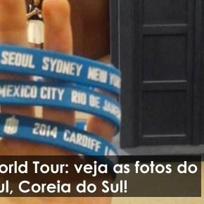 Doctor Who World Tour: veja as fotos do evento em Seul, Coreia do Sul!
