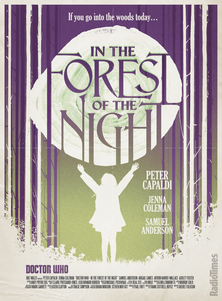 Doctor Who - In the Forest of the Night - Radio Times Poster