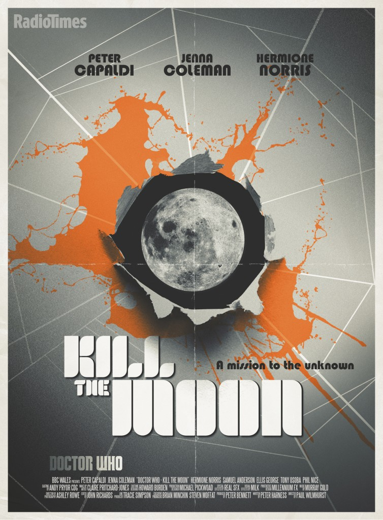 doctor who radio times kill the moon exclusive poster