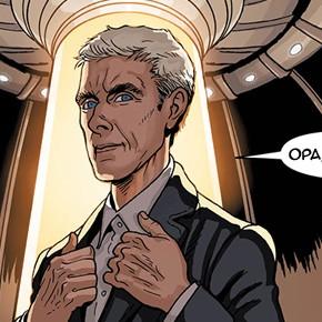 Confira o preview do quadrinho do 12º Doutor pela Titan Comics