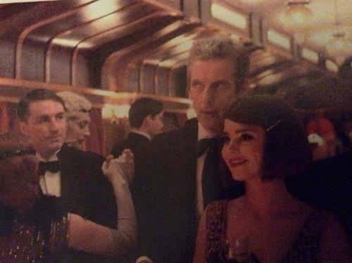 Jenna Coleman Doctor Who Mummy on the Orient Express 02