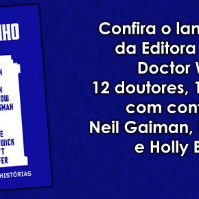 [Lançamento] Doctor Who: 12 doutores, 12 histórias, da Editora Rocco
