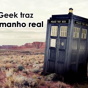 Loja Mundo Geek traz Tardis em tamanho real para a Comic Con Experience! #CCXP