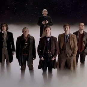 Chamando todos os fãs de Doctor Who! Let's sing the song of our people!