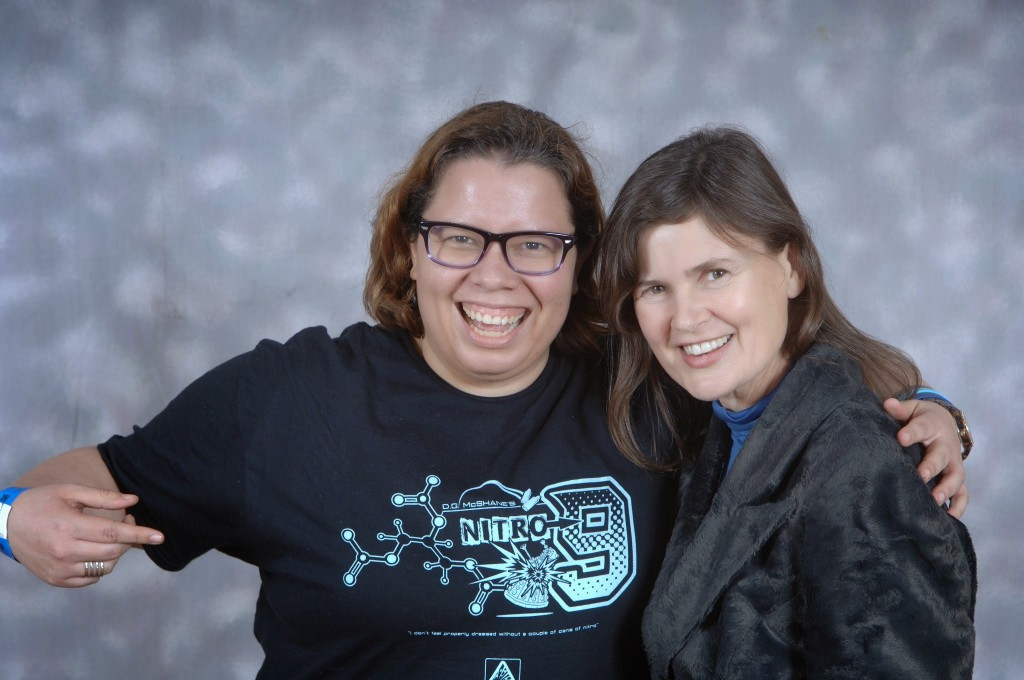 Sophie Aldred: Best. Companion. Ever.