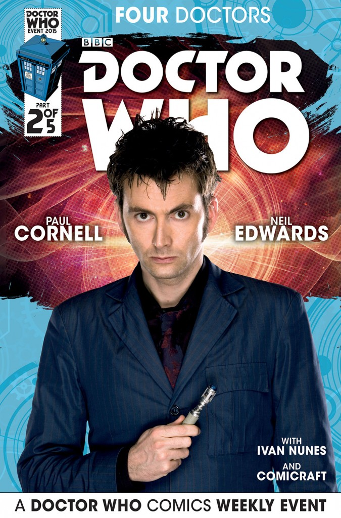 doctor who titan comics david tennant