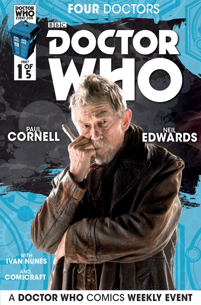 doctor who titan comics john hurt
