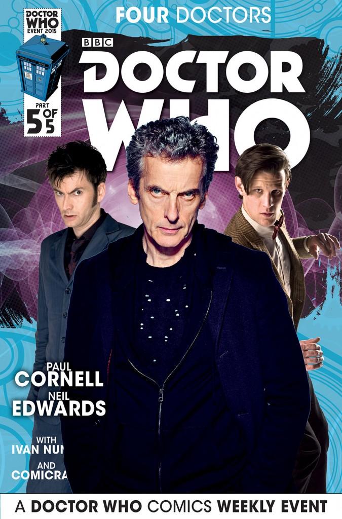 doctor who titan comics three doctors