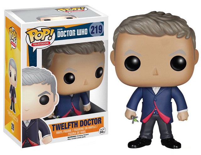 funko pop doctor who peter capaldi