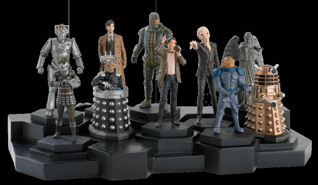Coleção de miniaturas de Doctor Who da Eaglemoss
