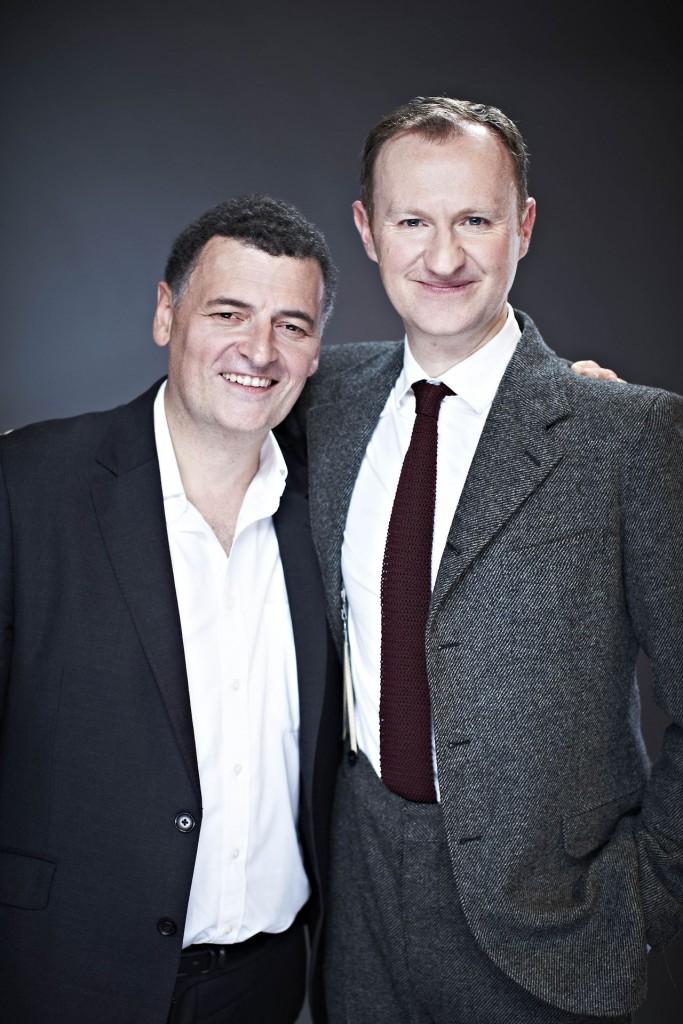 Steven Moffat e Mark Gatiss: vários projetos em conjunto