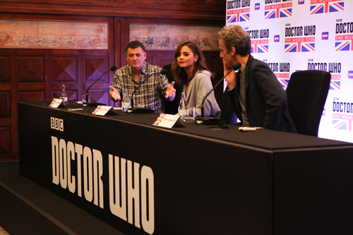 Coletiva de impresa da Doctor Who World Tour Brasil