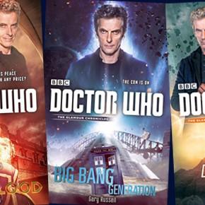 Saiba mais sobre os três novos livros de Doctor Who com 12º e Clara!