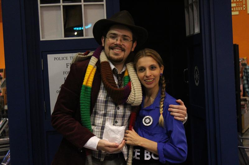 Thais Aux e Freddy Pavão - Doctor Who Brasil
