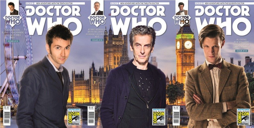 doctor who titan comics sdcc 10 11 12