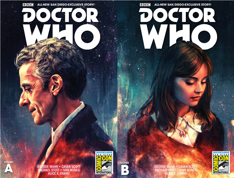 doctor who titan comics sdcc alice zhang