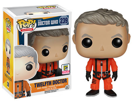 peter capaldi funko pop doctor who sdcc exclusivo