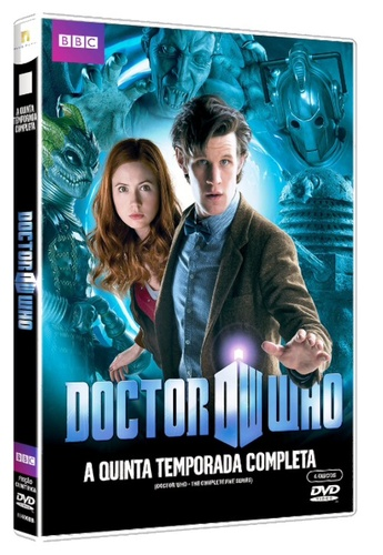 5ª temporada de Doctor Who em DVD - Matt Smith e Karen Gillan