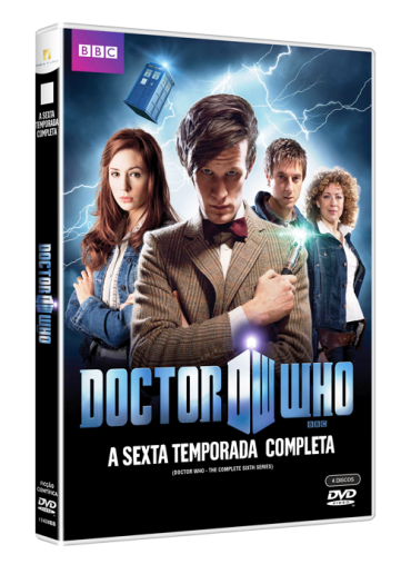6 temporada doctor who dvd matt smith karen gillan arthur darvill