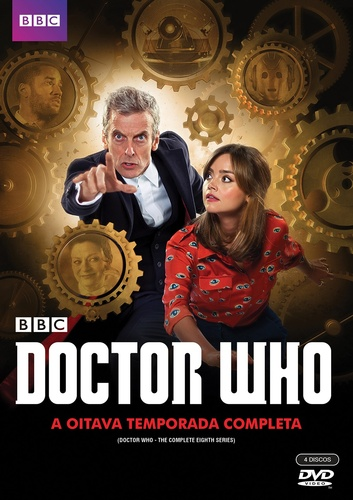 8 temporada doctor who dvd peter capaldi jenna coleman