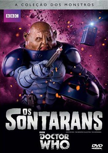 DVD Doctor Who Série Clássica - Sontarans
