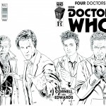 four doctors - titan comics - doctor who brasil 04