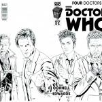 four doctors - titan comics - doctor who brasil 04